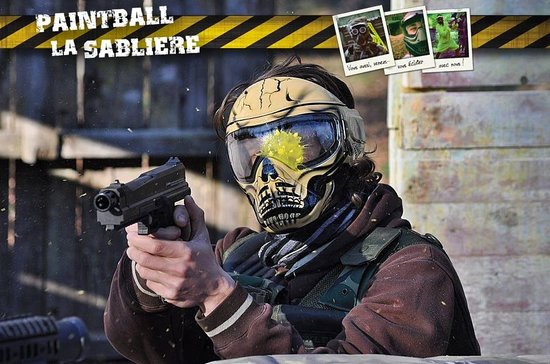 Paintball la Sabliere