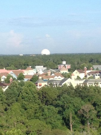 Buena Vista Palace : View of Epcot from room