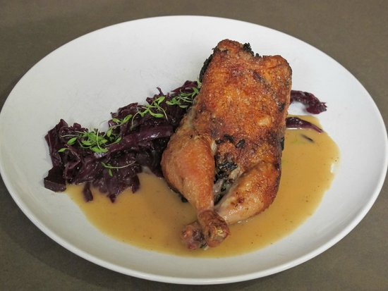 Satis Bistro: Cornish Hen with Pan Jus