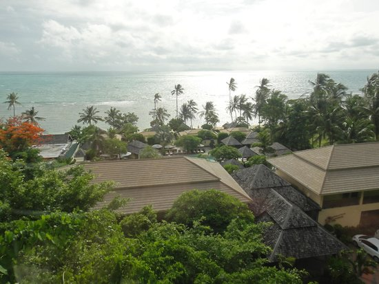 The Sunset Beach Resort & Spa, Taling Ngam: ジムからの眺め