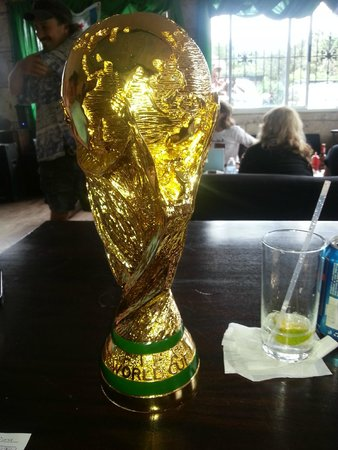 Mike's Global Grill : I won the World Cup at Mike's!