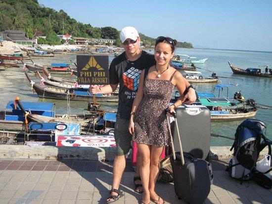 Phi Phi Villa Resort: Arrival point