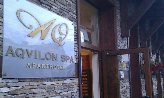 Aquilon Residence & Spa : Hotel Entrance