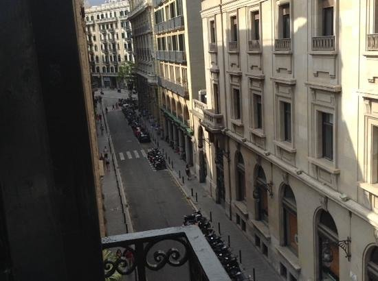 Colon Hotel: one of the balconies from our room