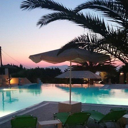 Faros Villa : Pool area