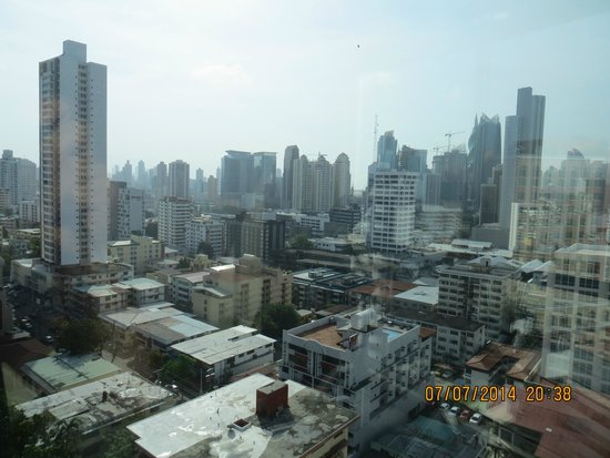 Tryp by Wyndham Panama Centro: view of skyline from roof top