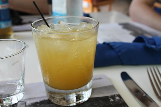Sip Sip: Ginger Margarita on the rocks