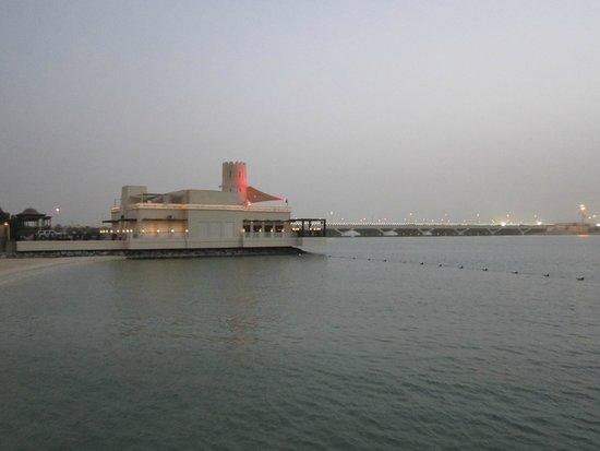 Shangri-La Hotel, Qaryat Al Beri, Abu Dhabi: view from the pool