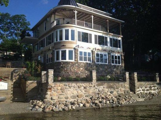 Steamboat Castle Bed & Breakfast : As seen from one of the B&B docks