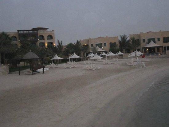 Shangri-La Hotel, Qaryat Al Beri, Abu Dhabi: private beach