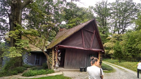 Wharton Esherick Museum: First overflow storage - now admissions/giftshop
