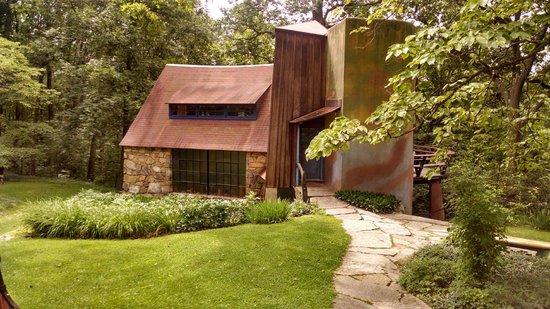 Wharton Esherick Museum: Original studio/workshop and additions