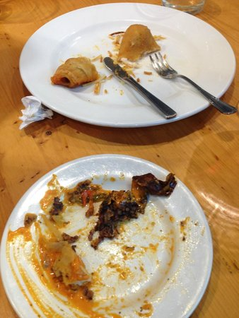 Bar Restaurante Munto : Blood sausage and pigs in blankets