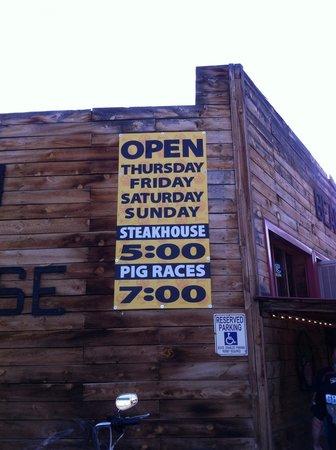 Bear Creek Saloon: Only in Montana!