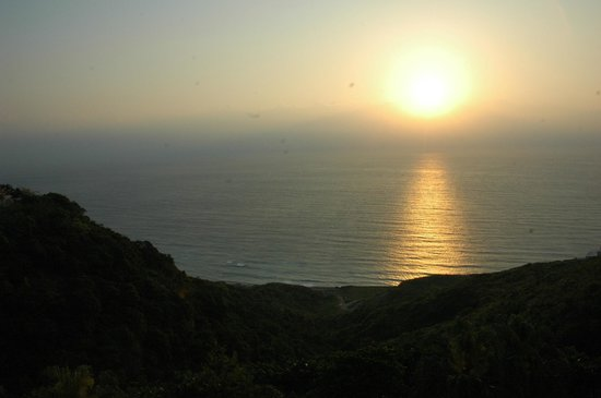 Hualien FarGlory Hotel: Sunrise