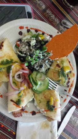 Rolando's Nuevo Latino Restaurante: Quesadilla Chivo