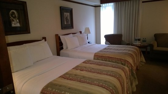 Hotel Alyeska: Double beds