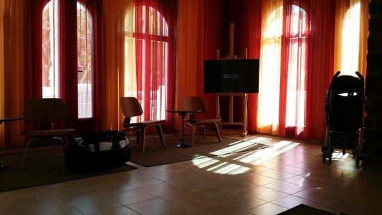 Acqua Vatos Hotel: Nice reception!