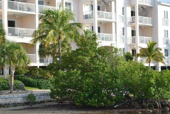 Key West Marriott Beachside Hotel: Rooms facing the gulf