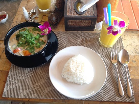 Amber Sands Beach Resort: Lovely food, every single dish we ordered!