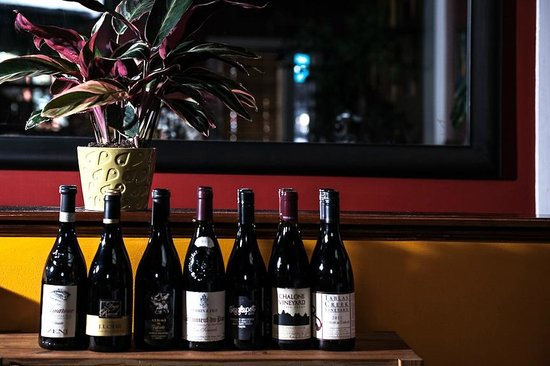 Peter Havens Restaurant : Some wines from our list