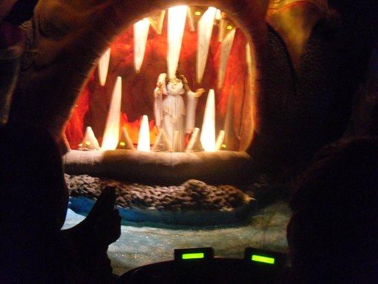 Terra Mítica: Minotaur ride - shoot the lights