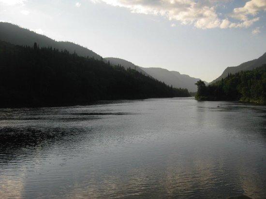 Parc national de la Jacques-Cartier: the Jacques Cartier River