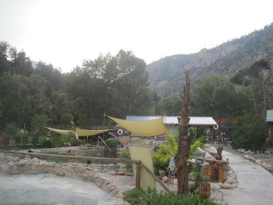 Cottonwood Hot Springs Inn & Spa : the scene...
