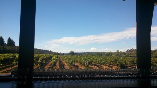 UPTick Vineyards wine tasting room