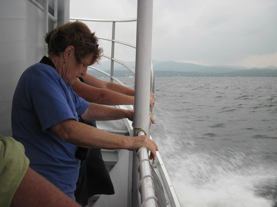 Elizabeth Lee, Outdoor Guide -  Tours: Exhilarating--but totally safe-- boat experience