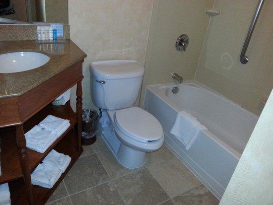 Hampton Inn Danbury: Salle de bain