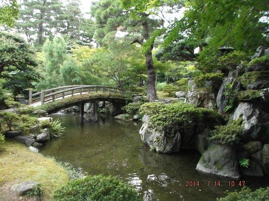 El jardin zen del palacio imperial de kyoto fotograf a de for Jardin kyoto
