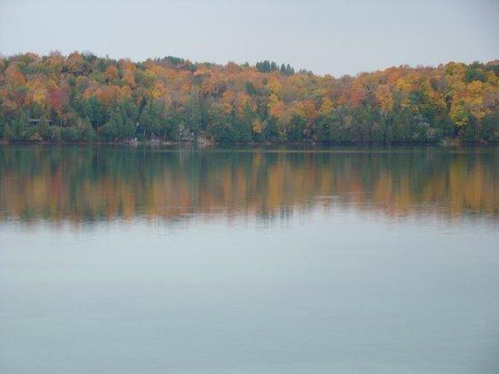 Siebkens Resort: Elkhart Lake in the Fall