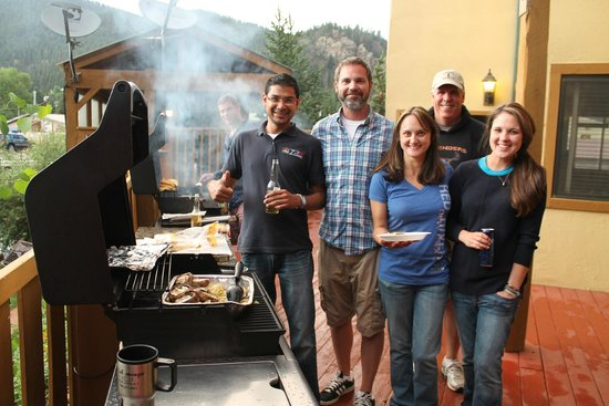 Best Western Rivers Edge: Why eat out when you can grill on site?