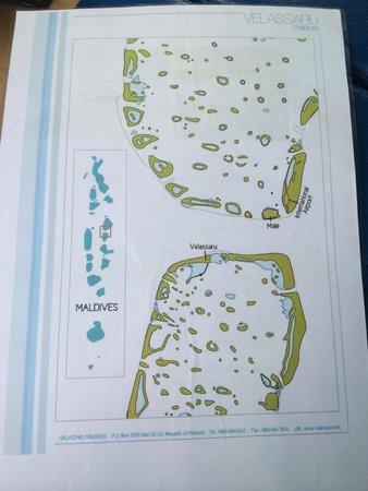Velassaru Maldives: Map of Maldives