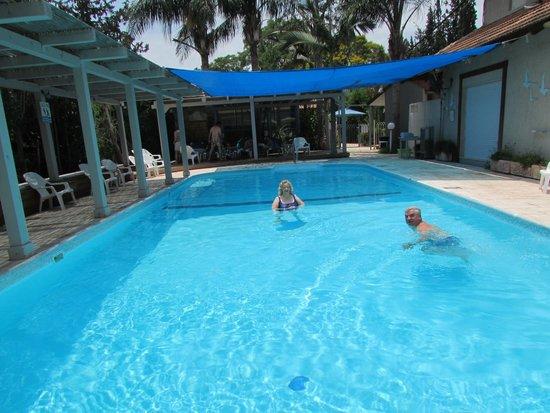 Golan Rooms At Sagi Family Country Lodging : Pool side