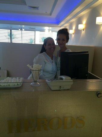 Herods Hotel Dead Sea: תודה לאור וג׳ני המקסימות