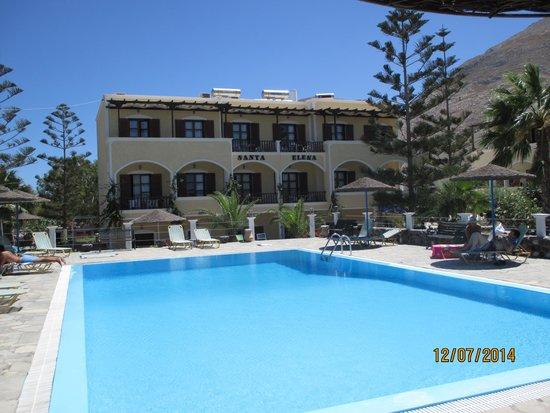 Santa Elena Hotel: Pool area