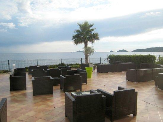 Hôtel Cala Di Sole : Bel terrazzo sul mare