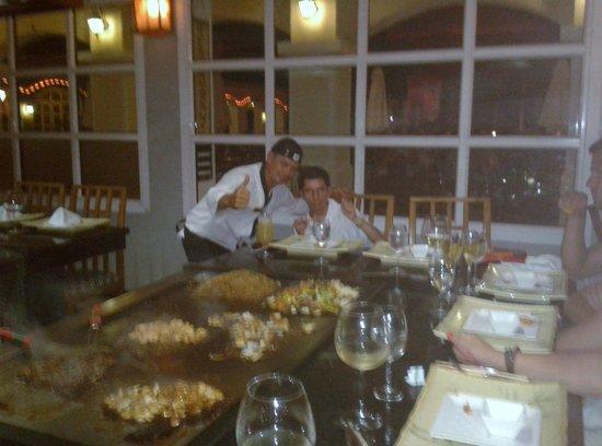 Paradisus Princesa del Mar Resort & Spa: En el restaurante japonés