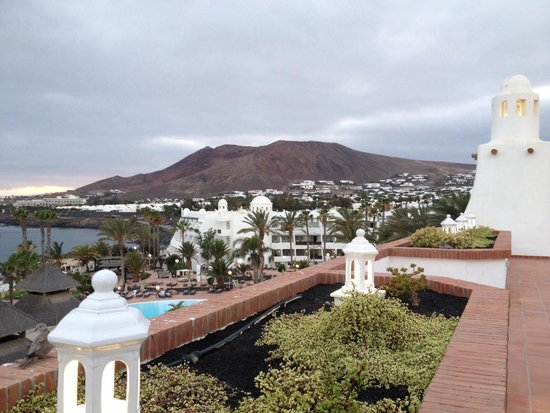 H10 Timanfaya Palace: View from the terrace