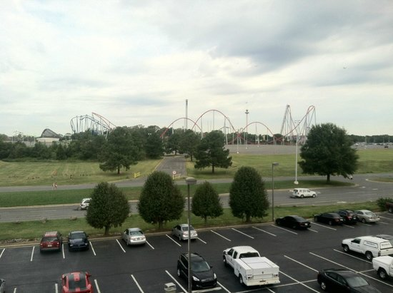 Comfort Inn At Carowinds: Carowinds view from Room