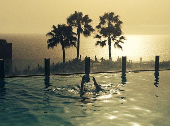 ClubHotel Riu Vistamar : piscina atardecer