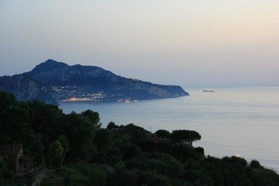 Gocce di Capri Restaurant: veduta da gocce di capri