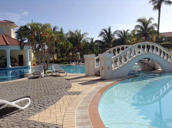 Paradisus Princesa del Mar Resort & Spa: Hermosos Jardines y pisinas