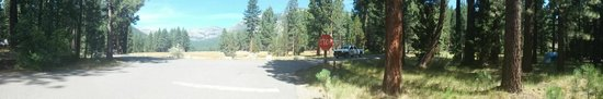 Markleeville, Californië: Heading out of the campground