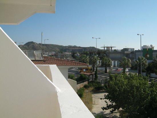 Iatridis Studios: Balcony view