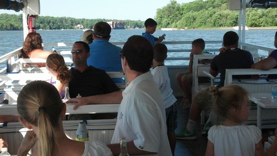 Family gathering and neighborhood events on the M/V Bay Breeze