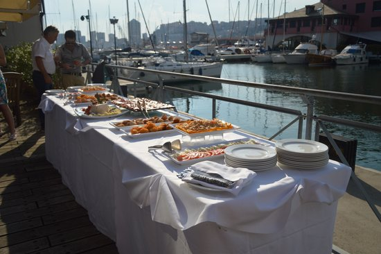 NH Collection Genova Marina : buffet