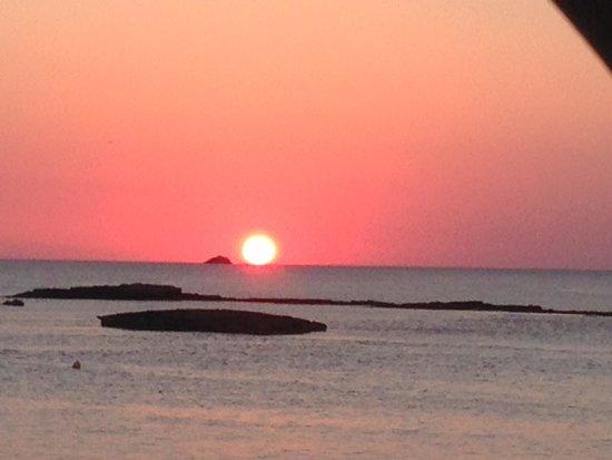 Ses Pitreras : Atardecer en Illa des Bosc, a 5 mins del Hotel